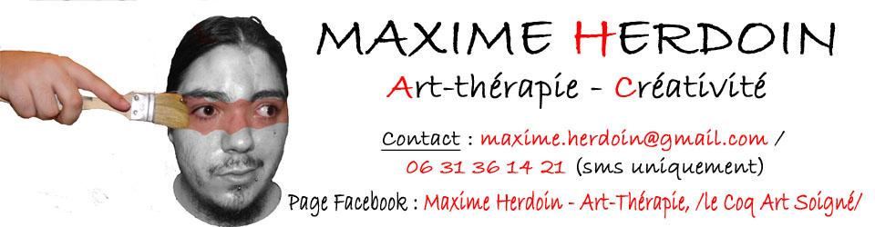 Maxime Herdoin – Art-thérapeute